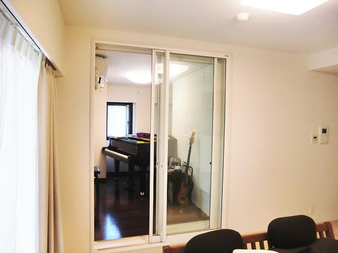 練馬区M様 ピアノ防音室
