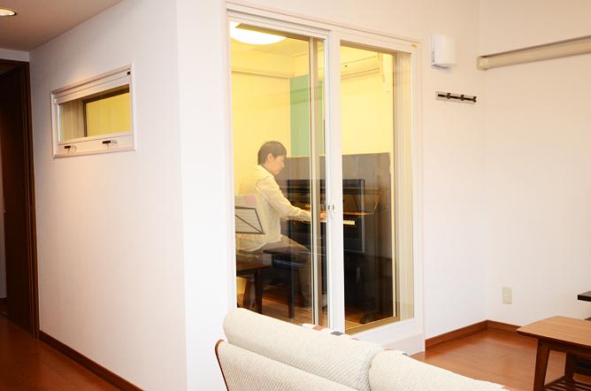 千葉県船橋市 K様邸ピアノ・アルトサックス防音室