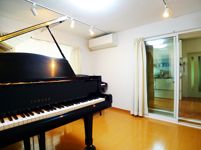 千葉市若葉区S様 ピアノ室