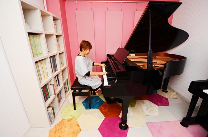 戸田市U様 ピアノ室