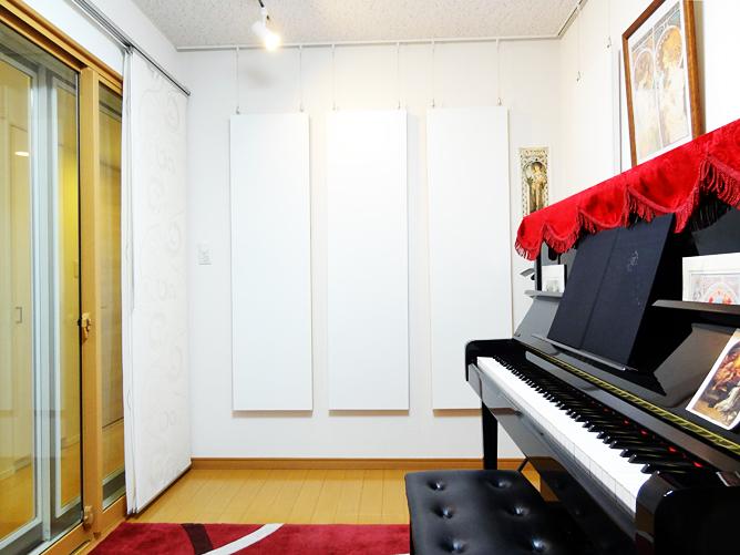 千葉県松戸市 T様邸ピアノ・声楽練習室