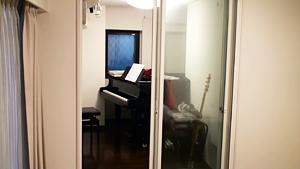 実際にご見学された練馬区M様邸ピアノ室