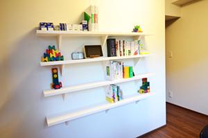書斎にブックシェルフを設計・設置