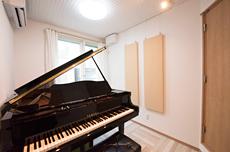 清瀬市H様邸ピアノ室