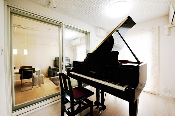 神奈川県横浜市 T様邸 ピアノ室