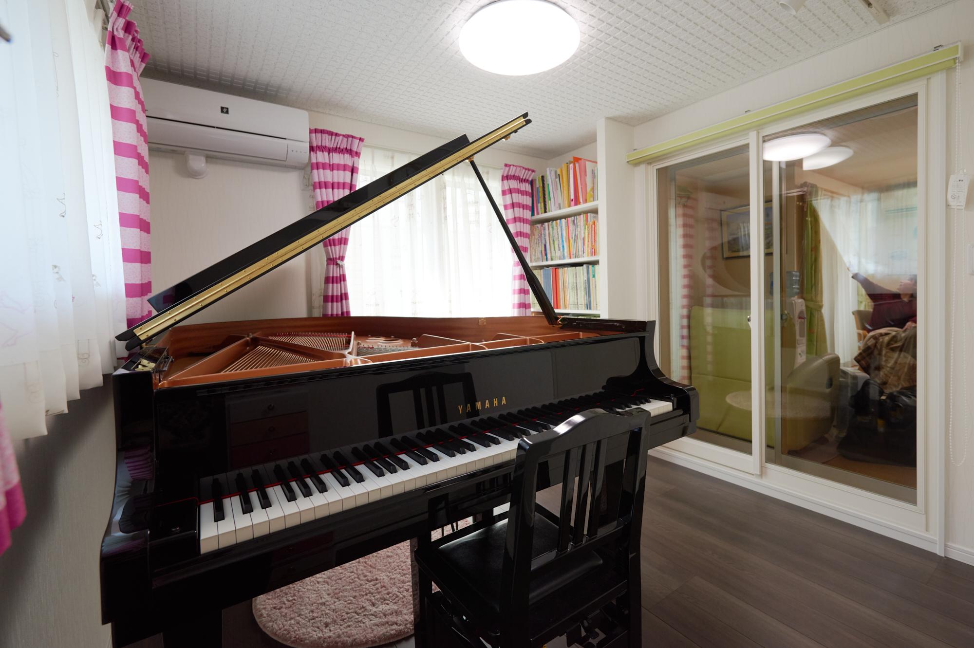 神奈川県川崎市 H様邸 ピアノ室