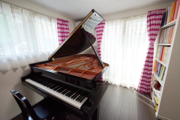 施工後のピアノ防音室