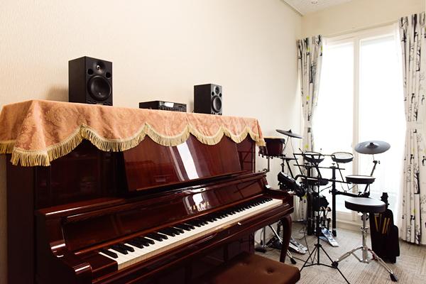 さいたま市K様邸 ピアノ・電子ドラム室