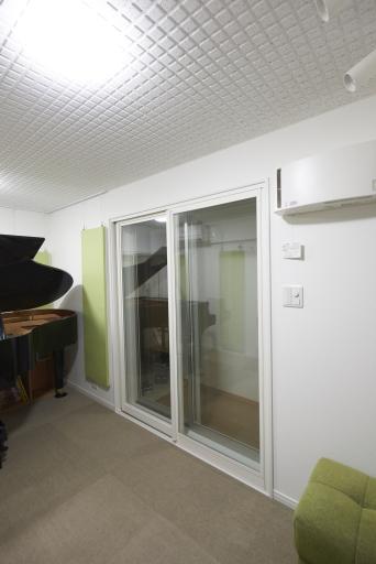 横浜市S様 ピアノレッスン室