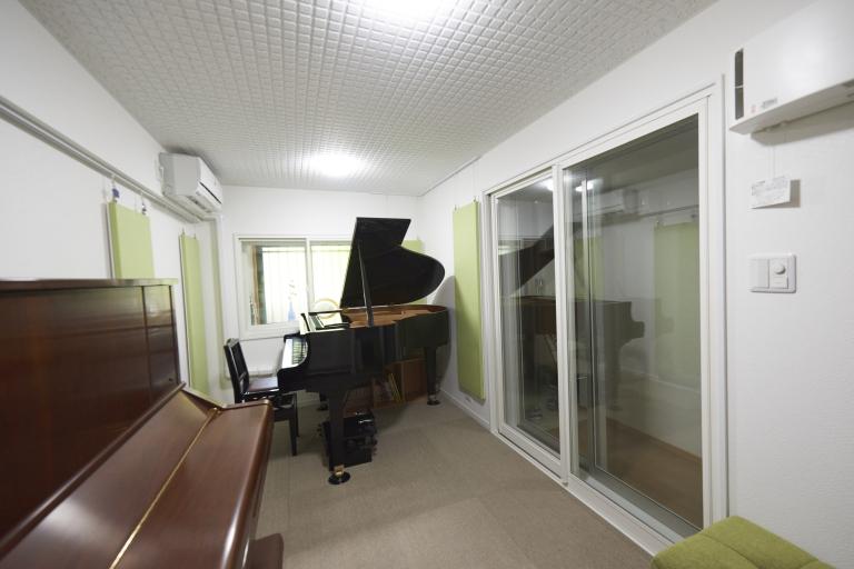 竣工後のピアノレッスン室